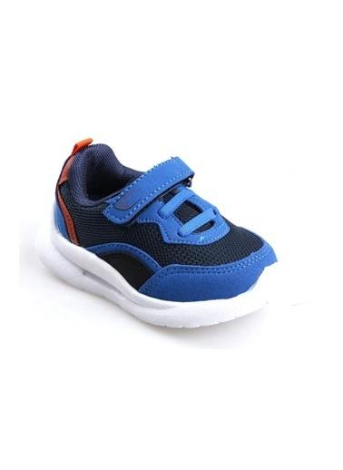Cool 20-S29 Mavi Erkek Çocuk Bebe Fileli Günlük Spor Ayakkabı Mavi